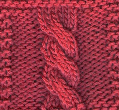 c6b knitting how to knit a six stitch cable dummies