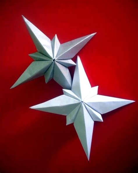 3d origami christmas star tutorial 19 best photos of 3d paper star for xmas christmas