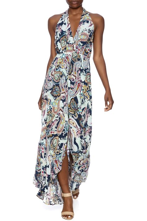 Maxi By the clothing co print maxi romper from manhattan by dor l