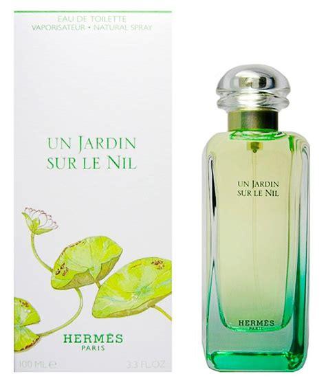 perfume un jardin sur le nil feminino por hermes