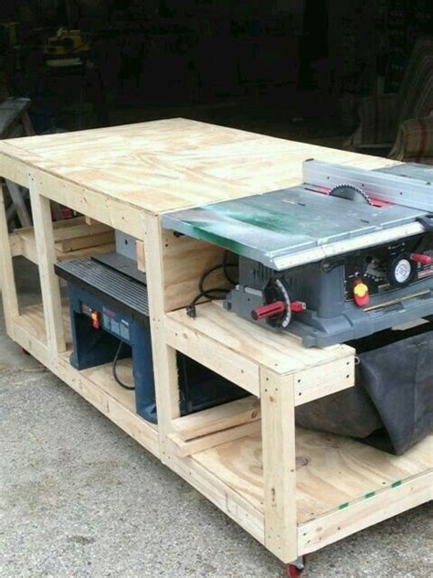 multi tool bench multi tool workstation saw table workbench pinterest