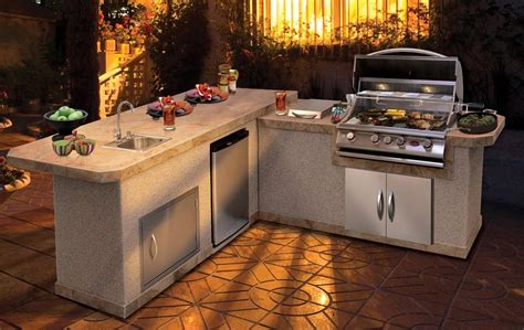 bbq outdoor kitchen islands california hot spas cal flame barbecue island lbk 870