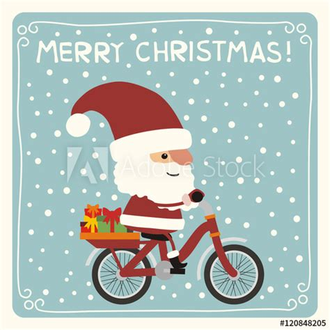 Santa Claus Merry 7 merry santa claus with gifts
