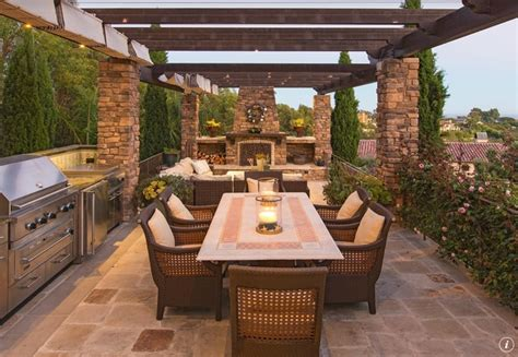 outdoor kitchen patio designs let s eat out 45 outdoor kitchen and patio design ideas