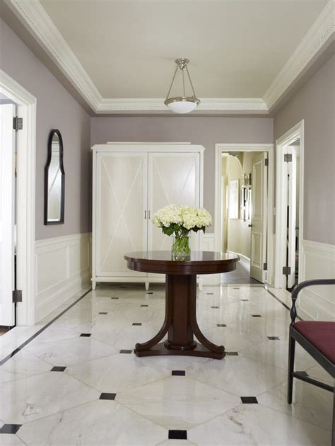 wood paneling ideas hall modern with glass iron railing tile foyer entry traditional with white wood paneling