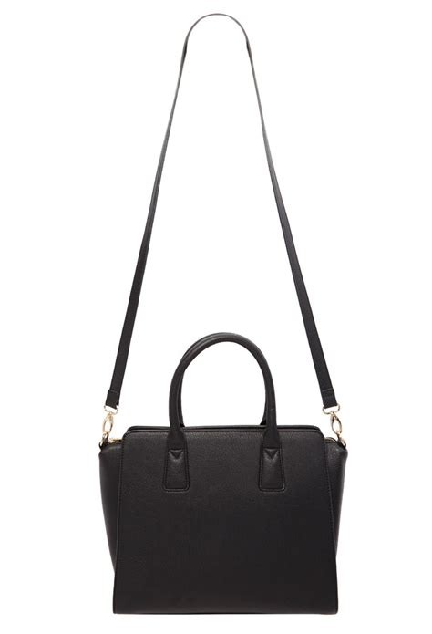 Forever21 Does Marc Hudson Handbag by Lyst Forever 21 Structured Faux Leather Satchel In Black