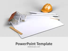 construction powerpoint presentation templates architecture plan powerpoint template slidesbase