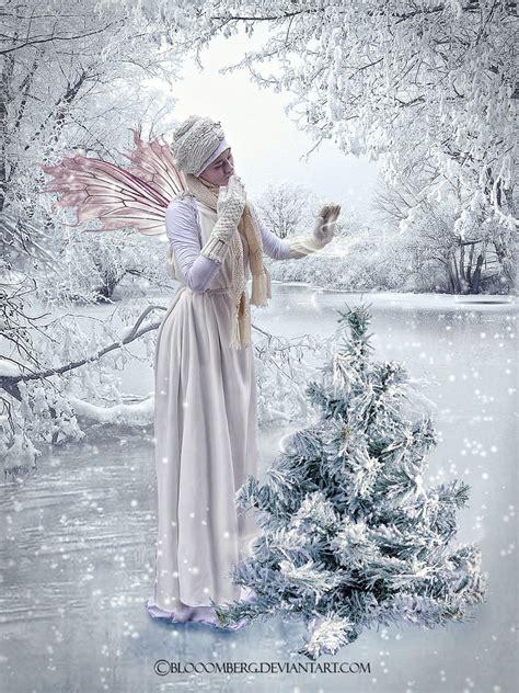 fairytale snow snow fairy by blooomberg on deviantart