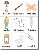 doctor and nurses preschool pack