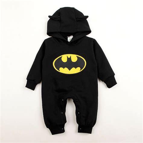 Romper Batman 1 Set baby rompers batman toddler hoodies newborn baby boy clothes winter romper warm clothing