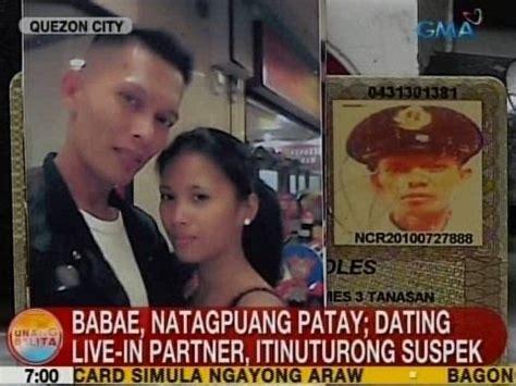 unang kantot ng kanyang boyfriend ub babae pinatay ng kanyang dating live in partner sa qc
