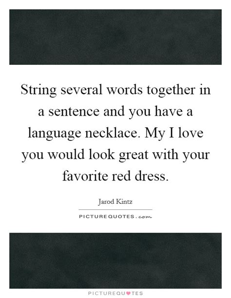 String Words - string several words together in a sentence and you a
