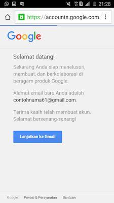 cara membuat email google lewat operamini cara membuat email gmail lewat hp android