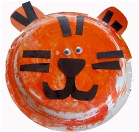 Tiger Paper Plate Craft - 1000 images about kid craft ideas on