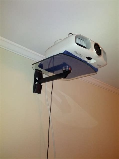 Wall Mount Projector Shelf projector shelf ideas