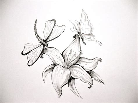white lily tattoo designs black and white printmaking black and white by