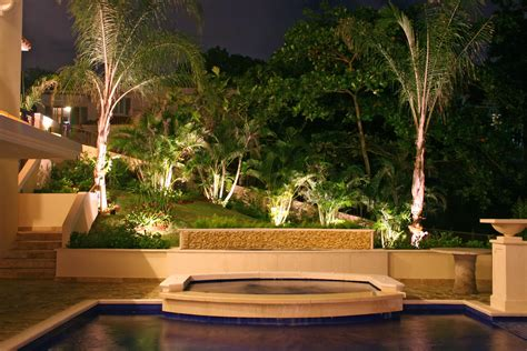 Outdoor Landscape Lighting Fixtures Benefits Of Led Outdoor Lighting In Naples Outdoor