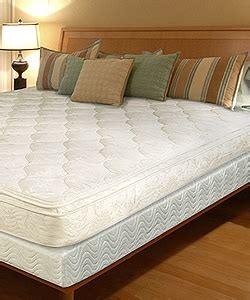 pillow top king size bed pillow top innerspring 11 inch full size mattress in a box