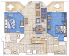 Marriott Aruba Surf Club 3 Bedroom Floor Plan by Aruba Ocean Or Surf Marriott Rewards 174 Insiders