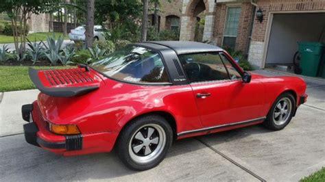 porsche 911 convertible 1980 porsche 911 targa 1980 color classic red classic