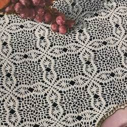 Square Tablecloth On Round Table 18 Easy Crochet Lace Tablecloth Patterns Guide Patterns