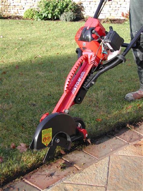 lawn edger professional by atom dj turfcare