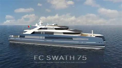 catamaran explorer yachts fc swath 75 75 m ultimate italian ultra tech fuel cells
