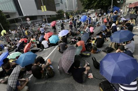 youm7 news section hong kong protesters call off talks