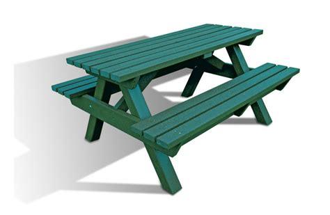heavy duty picnic heavy duty recycled plastic picnic bench