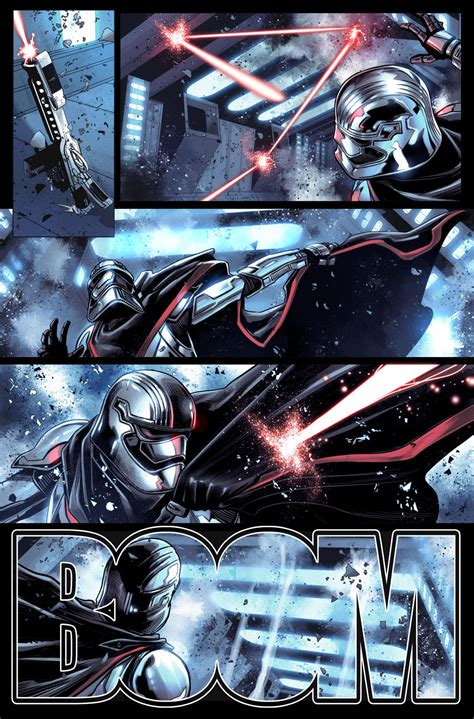 wars journey to wars the last jedi captain phasma wars the last jedi captain phasma 1 preview