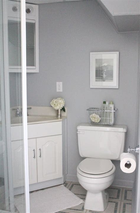 grey bathroom paint what to include in a guest bath julie blanner