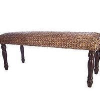 seagrass bench pottery barn seagrass upholstered bench pottery barn