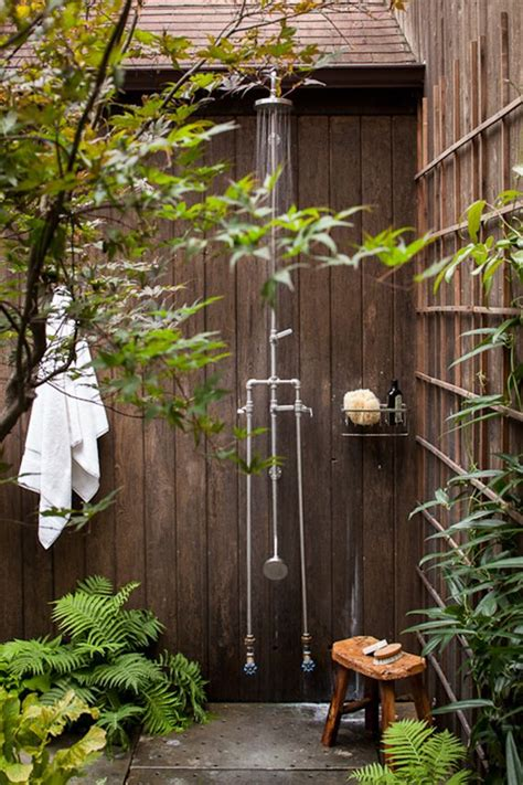 best outdoor shower 25 best ideas about outdoor shower fixtures on pinterest