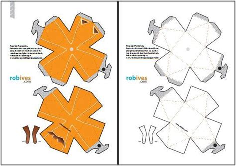 Papercraft Pumpkin - pumpkin papercraft via papermau 0001 zpsltrlw40k jpg photo