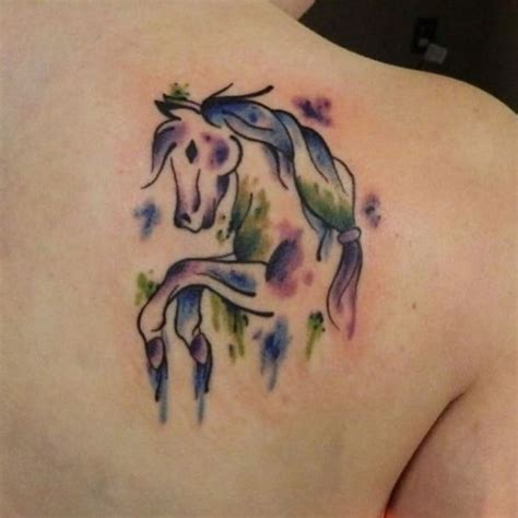 watercolor horse tattoo watercolor designs ideas and meaning