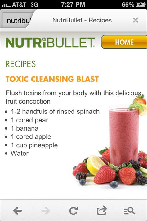 Nutribullet Diets Detox by 17 Best Images About Nutra Bullet Recipes On