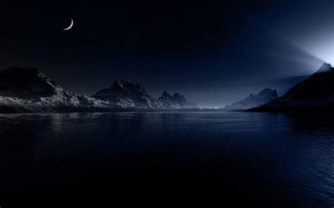 imagenes de noche wallpaper night moon berge meer hintergrundbilder night moon