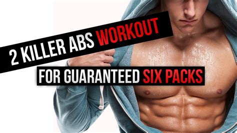 2 killer abs workout for guaranteed six packs
