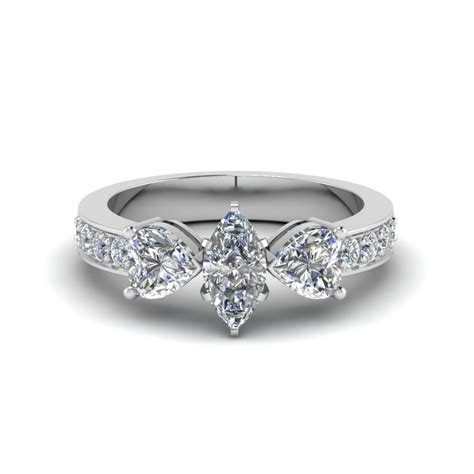 Marquise Ring by 3 Marquise Engagement Rings Fascinating