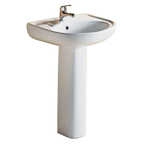 pedestal sink 18 inches barclay products cynthia 18 inch white 570 pedestal