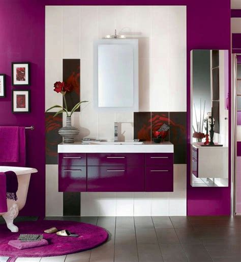 red and purple bathroom 43 best purple bathrooms images on pinterest purple