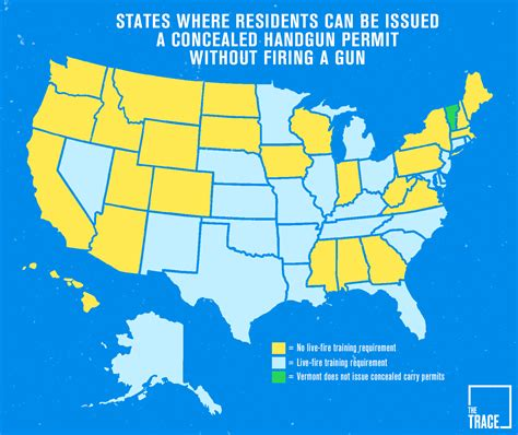 Concealed Carry Background Check These States Don T Test Your Shooting Skills Before Issuing A Concealed Carry Permit