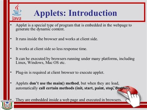 swing vs applet java applets