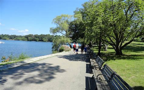 boathouse joggers jamaica pond the landscape architect s guide to boston
