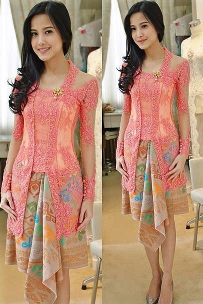 Bsd Kebaya Brokat Diskon 1 gaun kebaya modern yang anggun dan sederhana gebeet