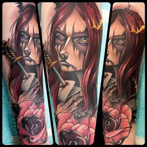 cartoon witch tattoo awesome dagger images part 2 tattooimages biz