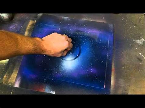spray paint galaxy will probably do this one in class planet rings tutorial