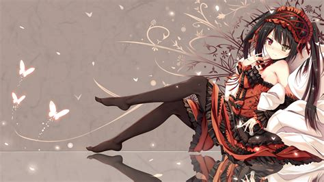 anime live date a live kurumi wallpaper newhairstylesformen2014