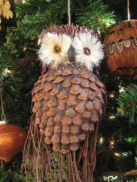 Easy Pine Cone Craft Projects Ornaments