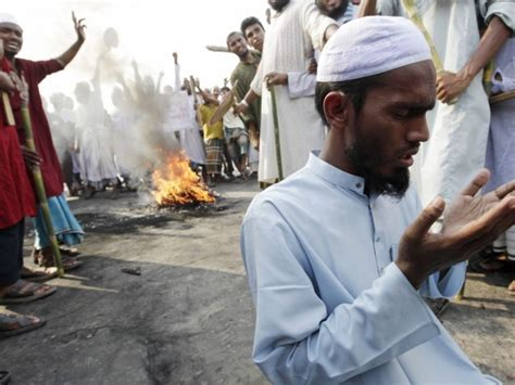 spiritual rubber sts clashes in bangladesh religious protests the